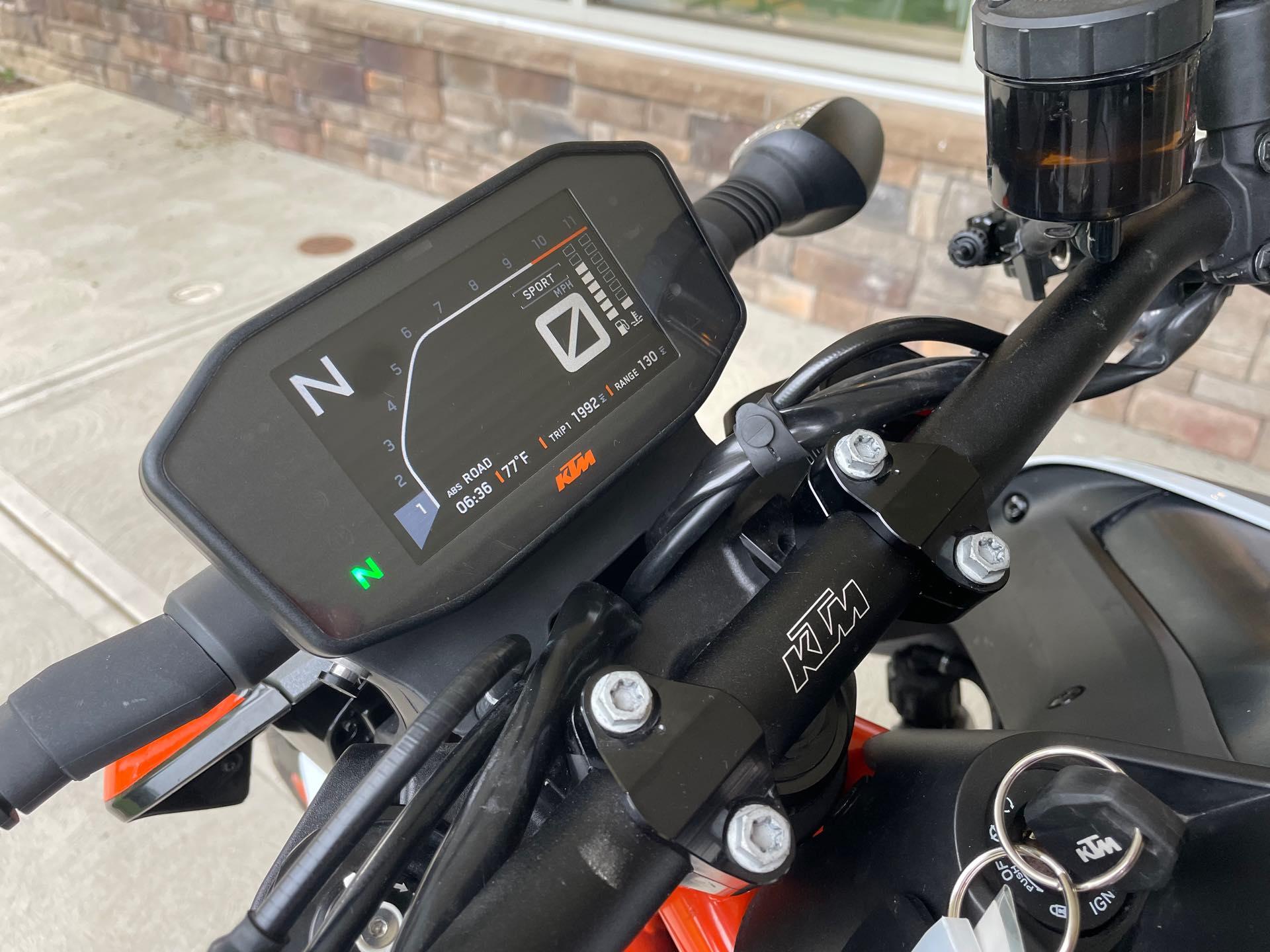 2020 KTM Duke 890 R at Pitt Cycles