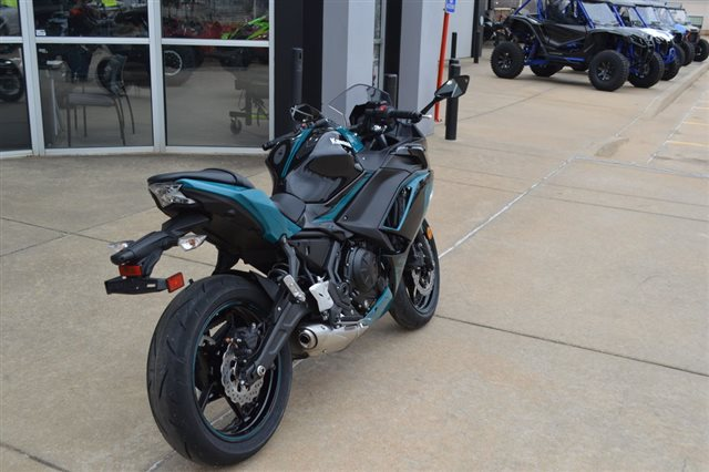 2021 Kawasaki Ninja 650 ABS at Shawnee Honda Polaris Kawasaki