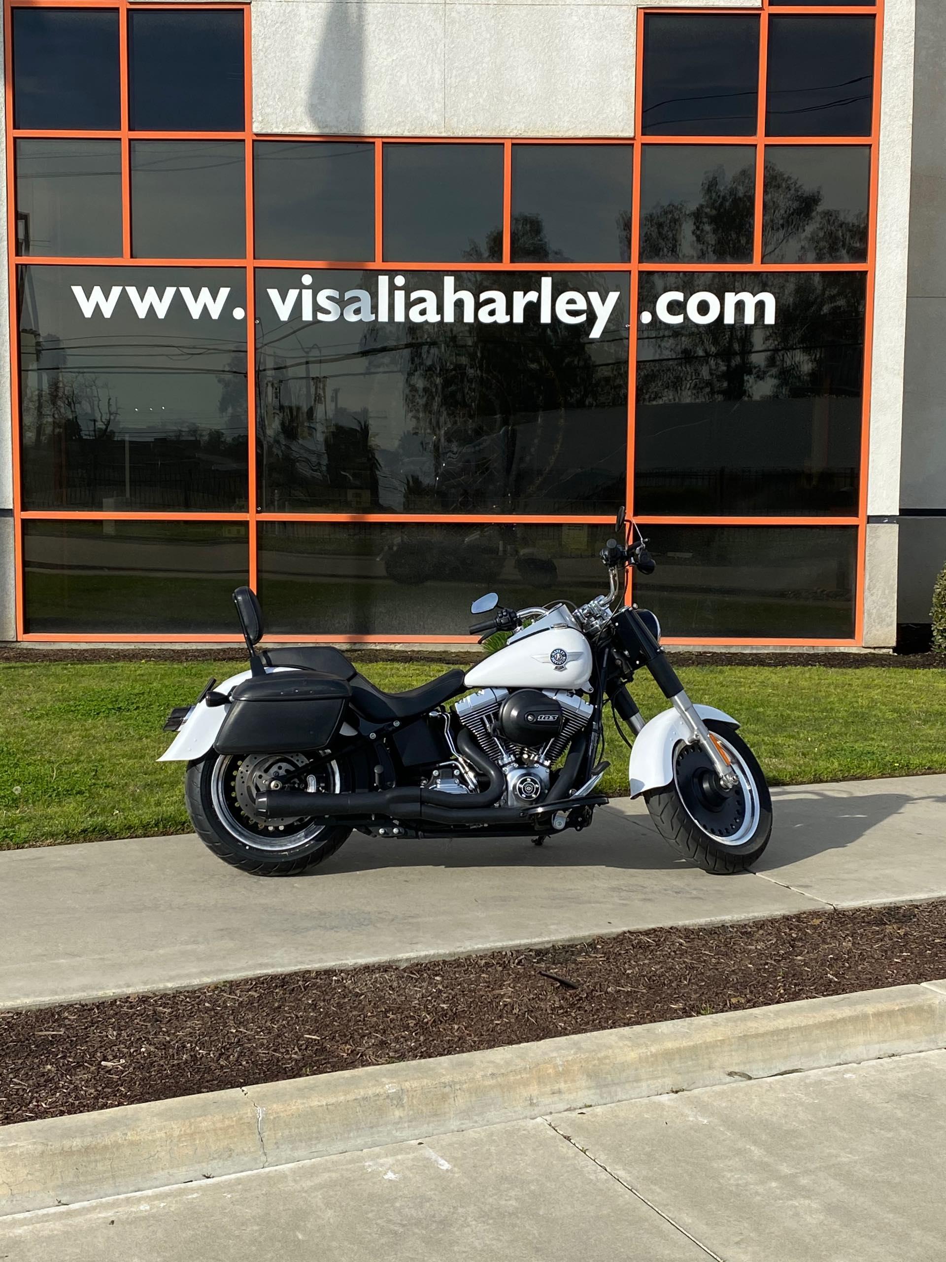 2016 Harley-Davidson Softail Fat Boy Lo at Visalia Harley-Davidson