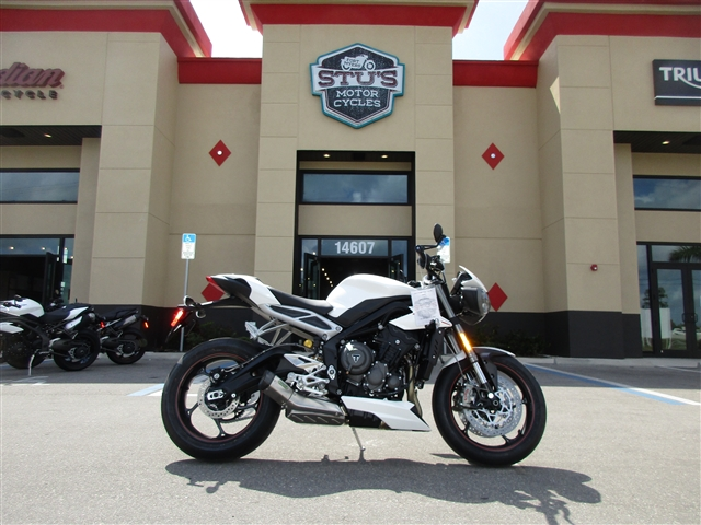 2019 Triumph Street Triple RS at Fort Myers