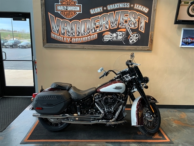 2021 Harley-Davidson Touring FLHCS Heritage Classic 114 at Vandervest Harley-Davidson, Green Bay, WI 54303