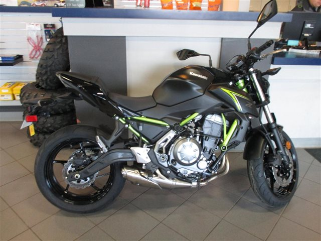 2018 Kawasaki Z650 ABS at Rod's Ride On Powersports, La Crosse, WI 54601