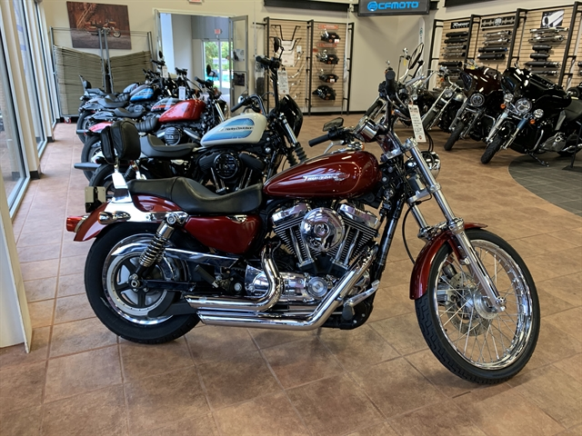 2009 Harley-Davidson Sportster 1200 Custom at Williams Harley-Davidson