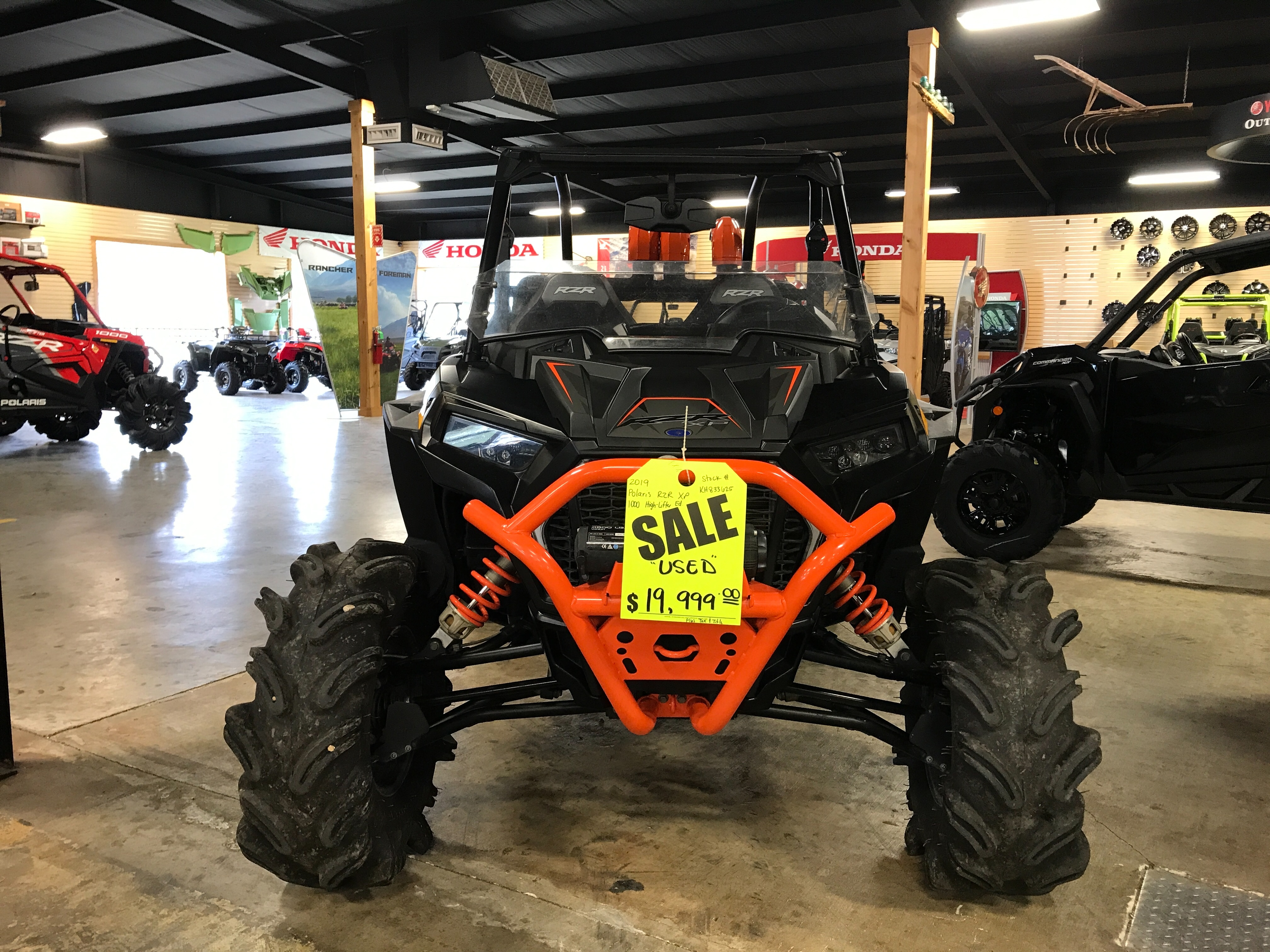 2019 POLARIS 1000 XP HL High Lifter Edition at ATV Zone, LLC