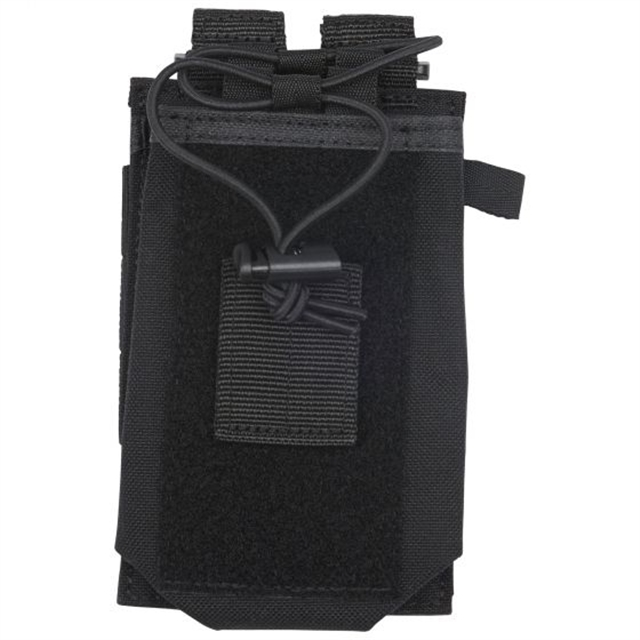 2019 5.11 Tactical Radio Pouch Black at Harsh Outdoors, Eaton, CO 80615