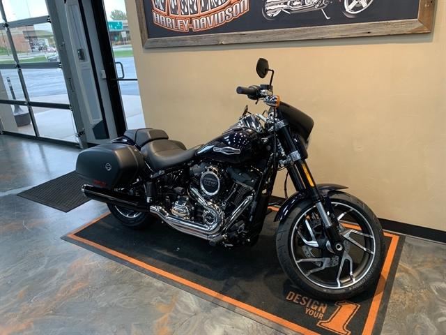 2020 Harley-Davidson Softail Sport Glide at Vandervest Harley-Davidson, Green Bay, WI 54303
