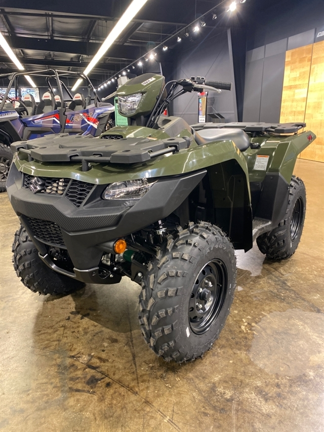 2021 Suzuki KingQuad 500 AXi at Sloans Motorcycle ATV, Murfreesboro, TN, 37129