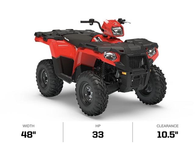 2019 Polaris Sportsman 450 HO EPS at Lynnwood Motoplex, Lynnwood, WA 98037