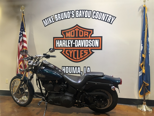 2001 HD FXSTB at Mike Bruno's Bayou Country Harley-Davidson