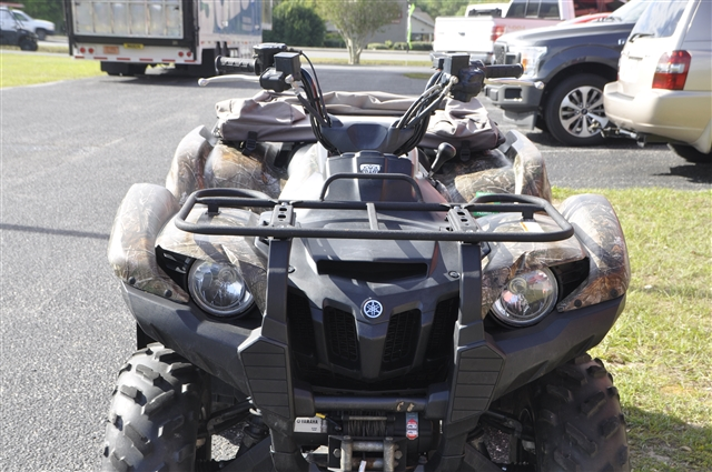 2009 Yamaha Grizzly 550 FI Auto 4x4 EPS at Seminole PowerSports North, Eustis, FL 32726
