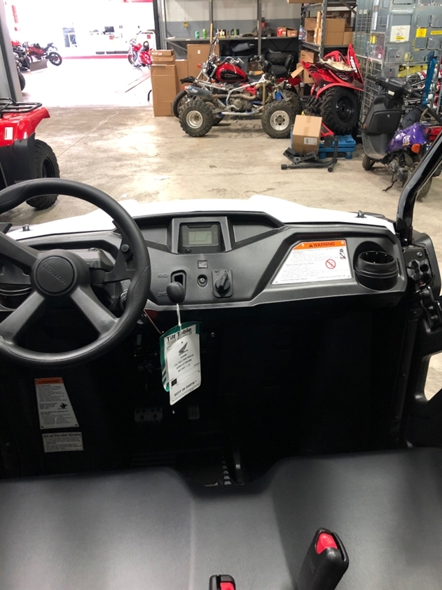 2020 Honda Pioneer 500 2 SEAT Base at Genthe Honda Powersports, Southgate, MI 48195