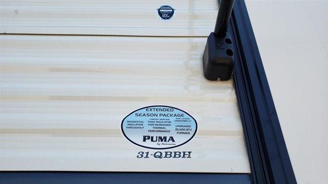 2020 Palomino PALOMINO PUMA PUMA 31QBBH at Youngblood Powersports RV Sales and Service