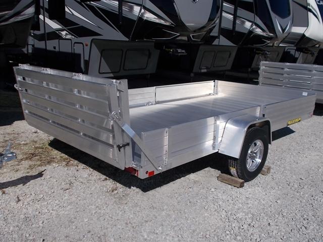 2021 Aluma Single Heavy Axle Utility Trailers 8113 SS/SR at Nishna Valley Cycle, Atlantic, IA 50022