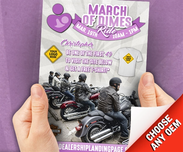 2018 ANYTIME March of Dimes Powersports at PSM Marketing - Peachtree City, GA 30269