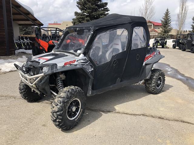 2012 Polaris Ranger RZR XP 4 900 Liquid Silver LE at Power World Sports, Granby, CO 80446