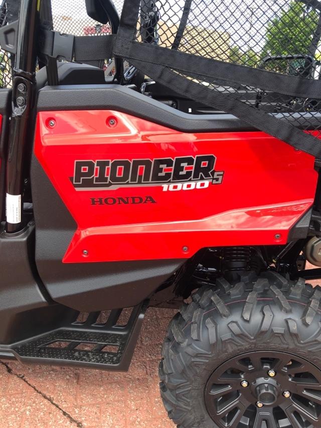 2020 Honda Pioneer 1000 5 SEAT DELUXE Deluxe at Genthe Honda Powersports, Southgate, MI 48195