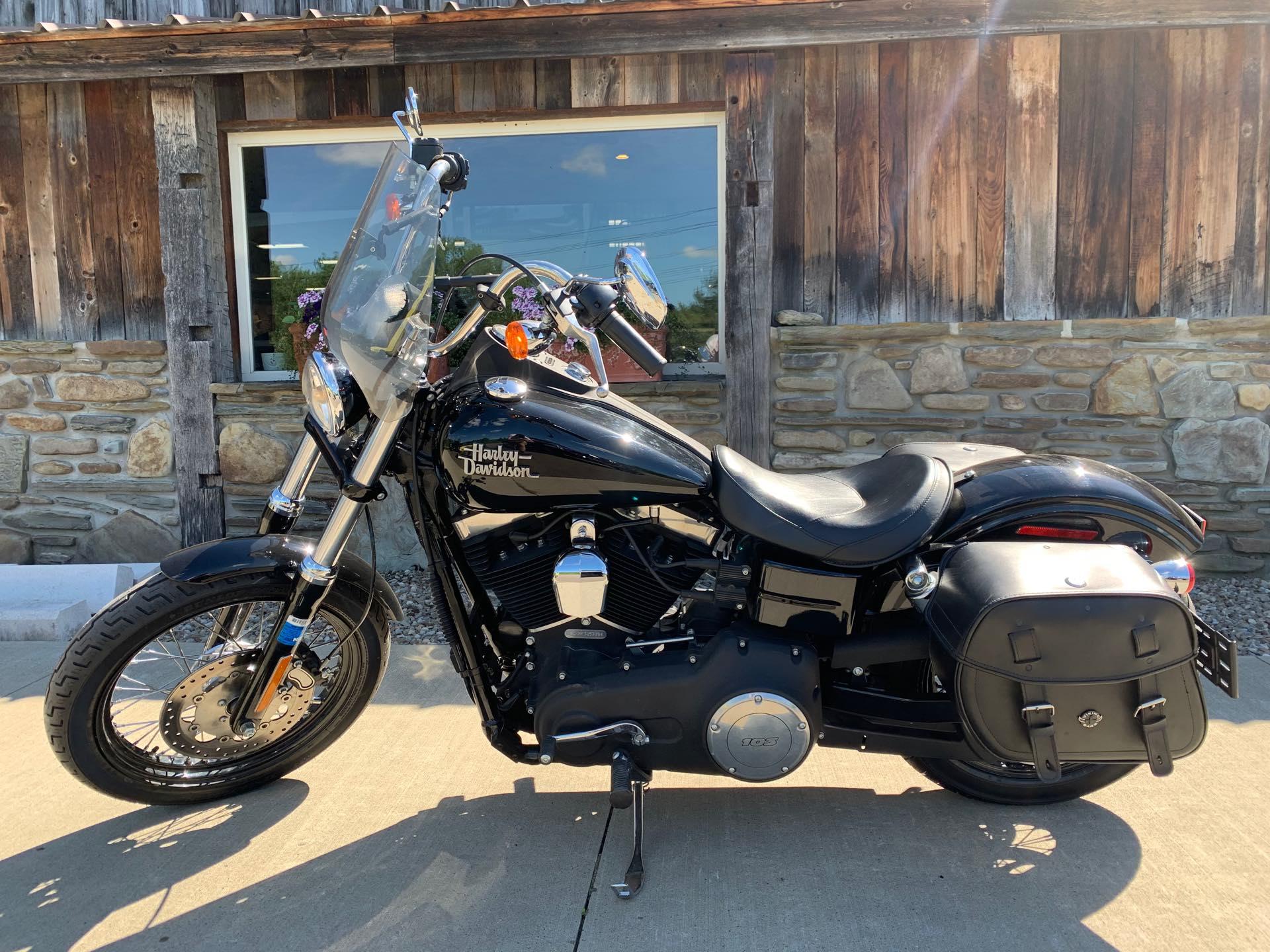 2015 Harley-Davidson Dyna Street Bob at Arkport Cycles