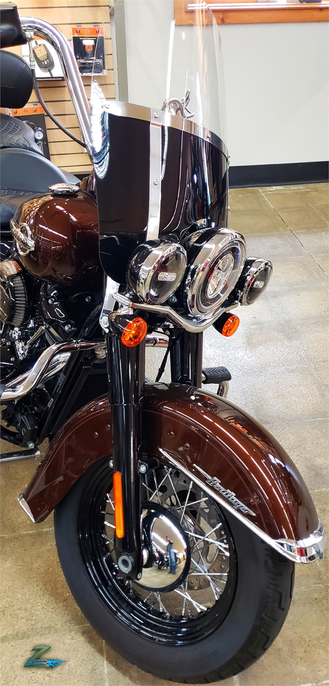 2019 Harley-Davidson Softail Heritage Classic 114 at Zips 45th Parallel Harley-Davidson