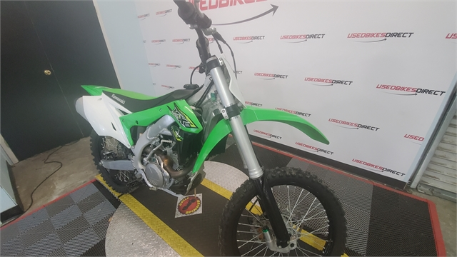 2018 Kawasaki KX 450F at Used Bikes Direct
