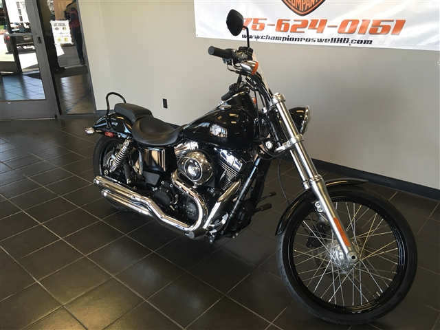 2015 Harley-Davidson Dyna Wide Glide at Champion Harley-Davidson®, Roswell, NM 88201