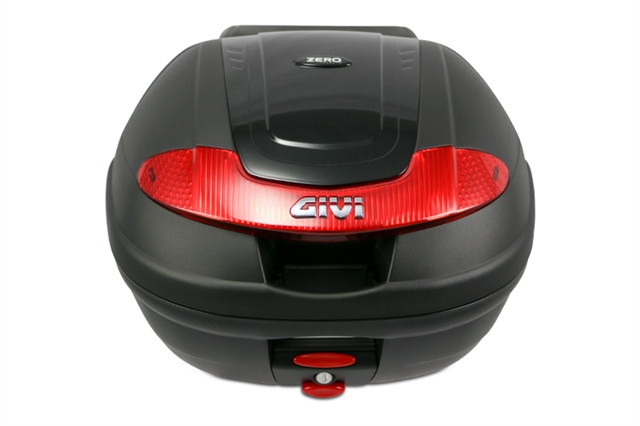 2019 ZERO FX TOP BOX BY GIVI AND RACK at Randy's Cycle, Marengo, IL 60152