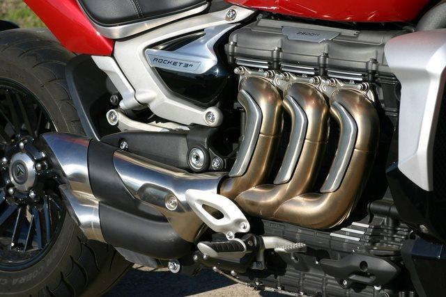 2020 Triumph Rocket 3 R at Eurosport Cycle