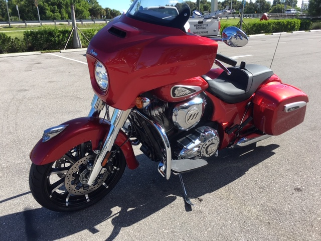 2019 Indian Chieftain Limited Ruby Red Limited at Fort Myers