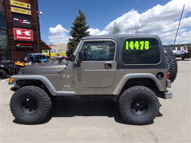 2003 JEEP WRANGLER TJ at Power World Sports, Granby, CO 80446