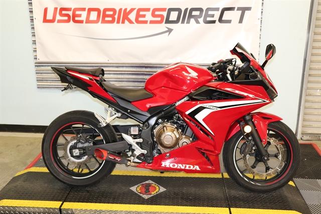 2019 Honda CBR500R Base at Used Bikes Direct