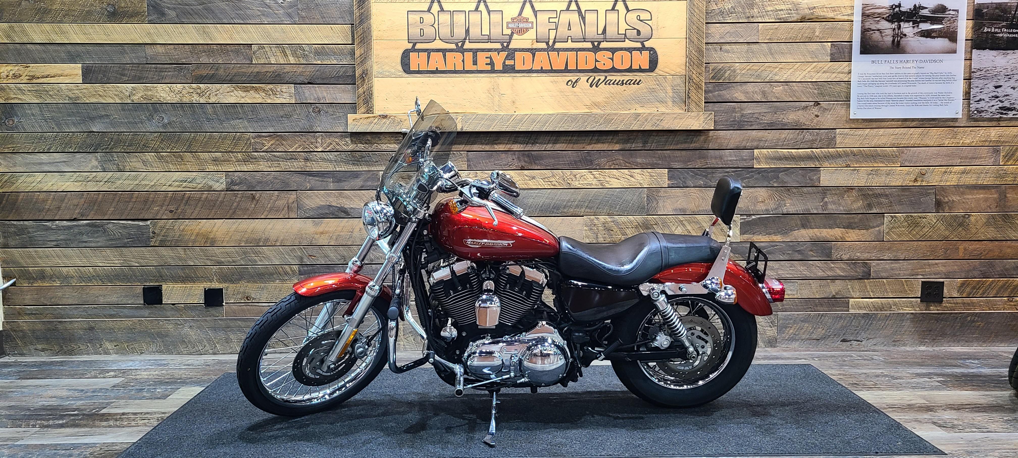 2008 Harley-Davidson Sportster 1200 Custom at Bull Falls Harley-Davidson