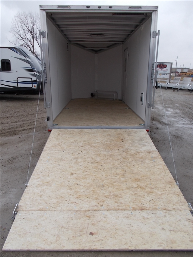 2020 Lightning Trailers LTF714TA2 7 Wide Flat Top at Nishna Valley Cycle, Atlantic, IA 50022