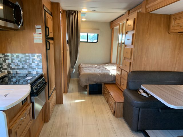 2019 NeXus RV Phantom 25P Rear Bedroom at Campers RV Center, Shreveport, LA 71129