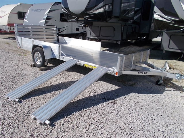2021 Aluma 8114SR 8114 SS/SR Utility Trailer at Nishna Valley Cycle, Atlantic, IA 50022