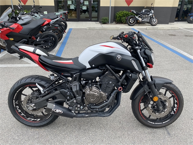 2018 Yamaha MT 07 at Fort Myers