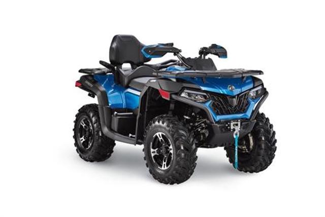 2020 CF MOTO CFORCE 600 TOURING ROYAL BLUE at Randy's Cycle, Marengo, IL 60152