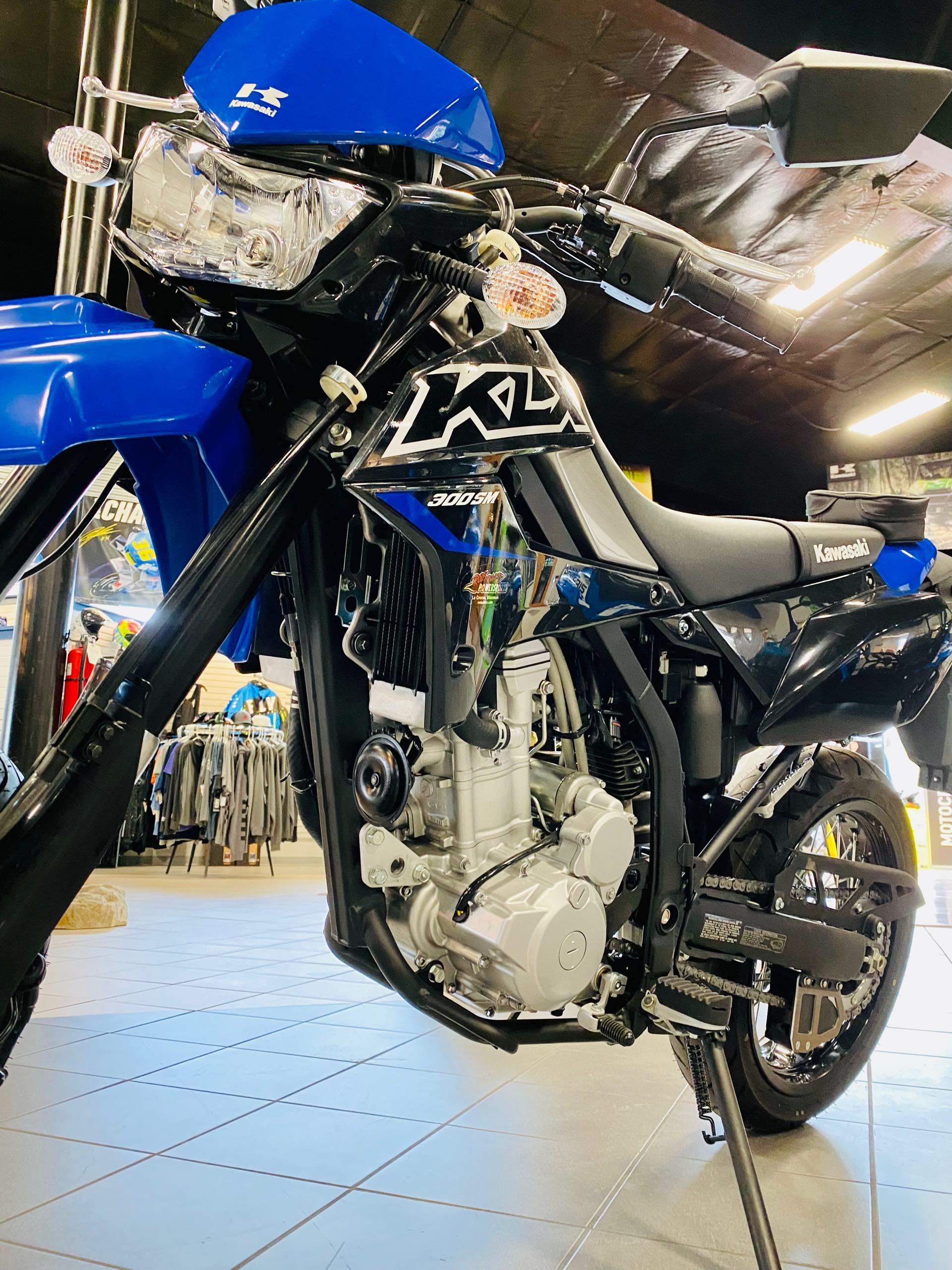 2021 Kawasaki KLX 300SM at Rod's Ride On Powersports