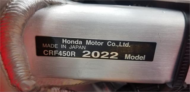 2022 Honda CRF 450R at Powersports St. Augustine
