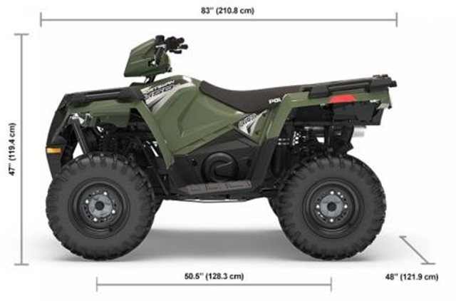2019 Polaris Sportsman 450 HO Base at Pete's Cycle Co., Severna Park, MD 21146