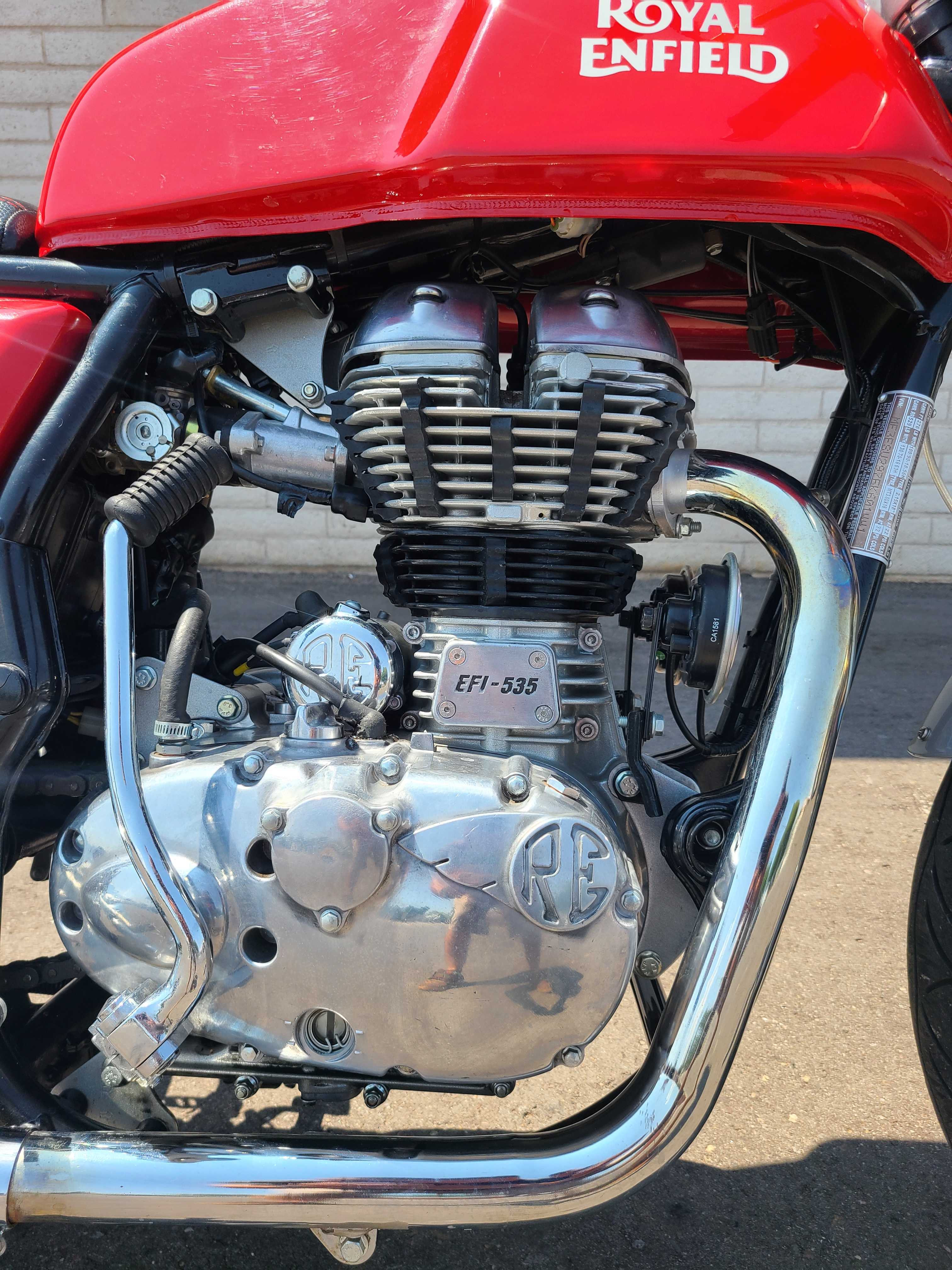 2014 Royal Enfield Continental GT Cafe Racer at Bobby J's Yamaha, Albuquerque, NM 87110