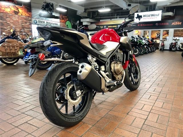 2019 Honda CB500F Base at Wild West Motoplex