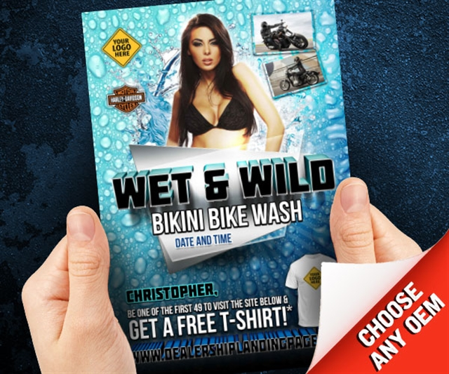 Wet & Wild Bikini Bike Wash Powersports at PSM Marketing - Peachtree City, GA 30269