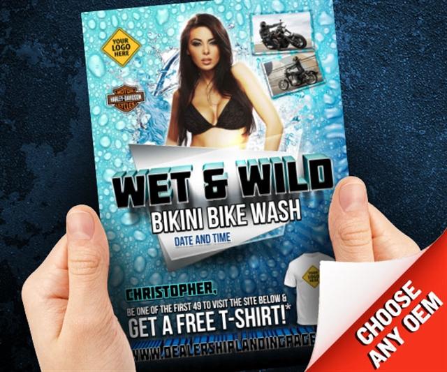 Wet & Wild Bikini Bike Wash Powersports at PSM Marketing - Peachtree City, GA 30269