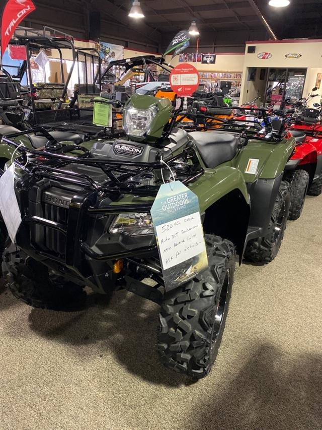 2020 Honda FourTrax Foreman Rubicon 4x4 Automatic DCT at Dale's Fun Center, Victoria, TX 77904