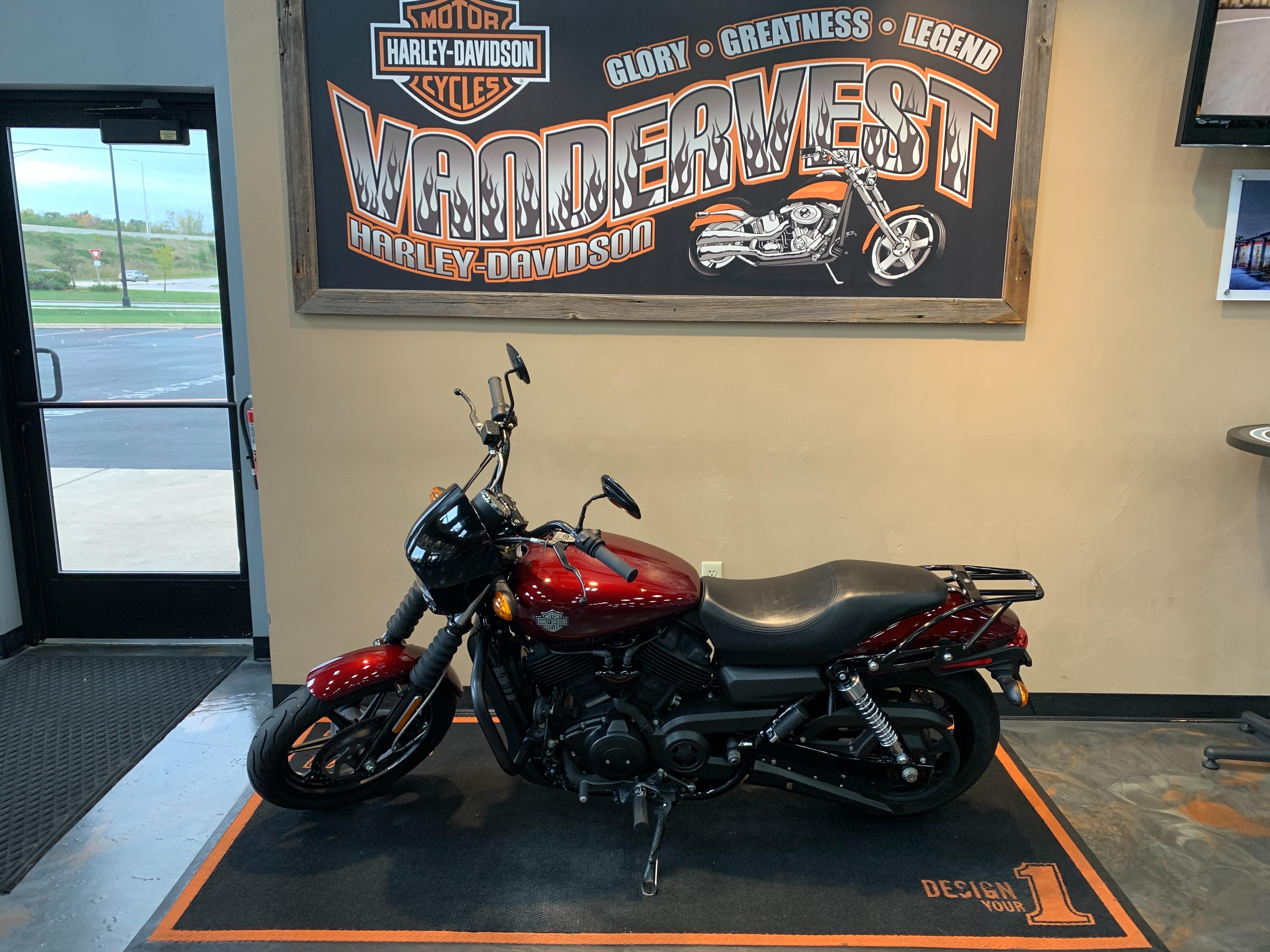 2015 Harley-Davidson Street 500 at Vandervest Harley-Davidson, Green Bay, WI 54303