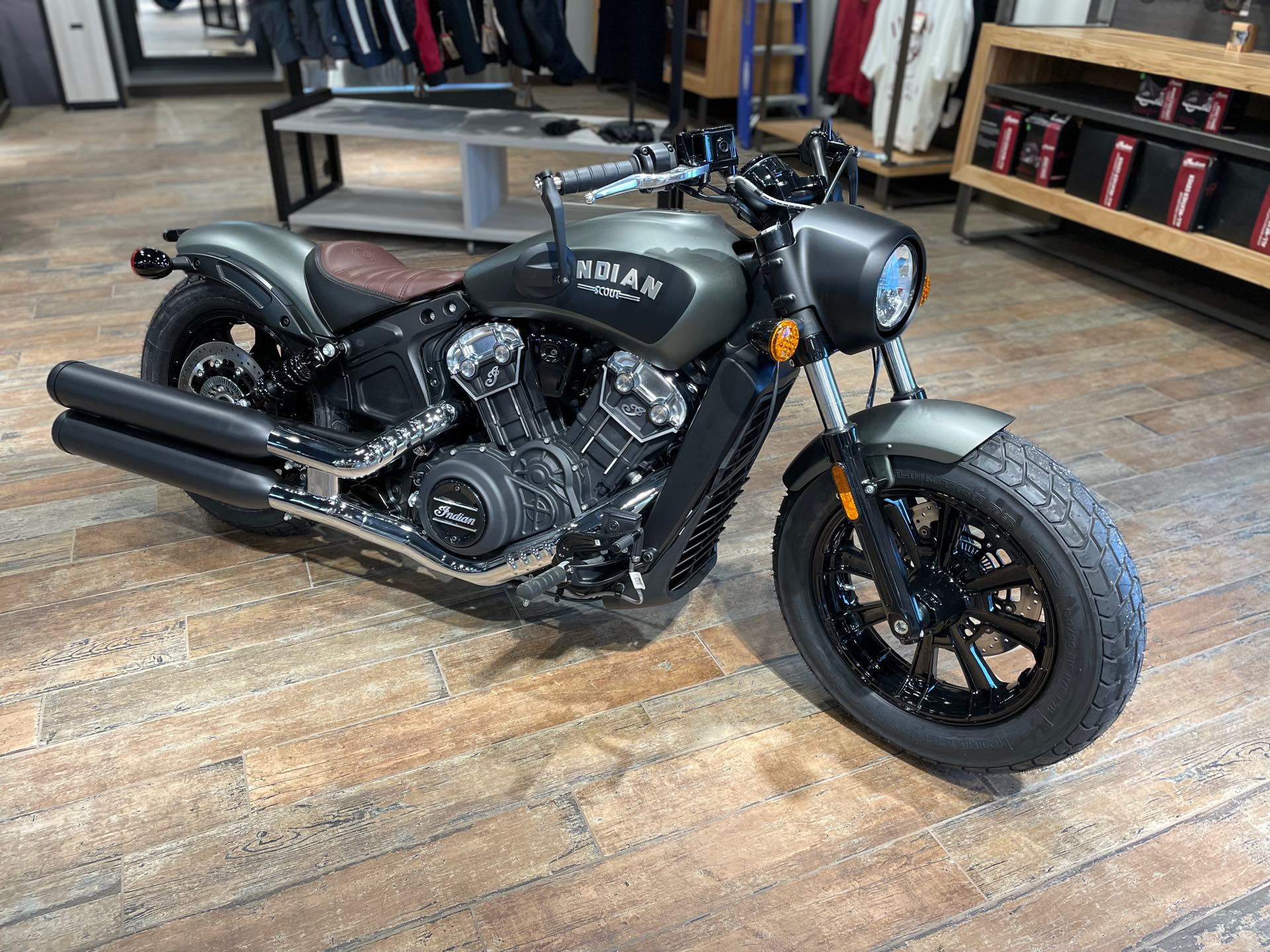 2021 Indian Scout Scout Bobber - ABS at Pitt Cycles