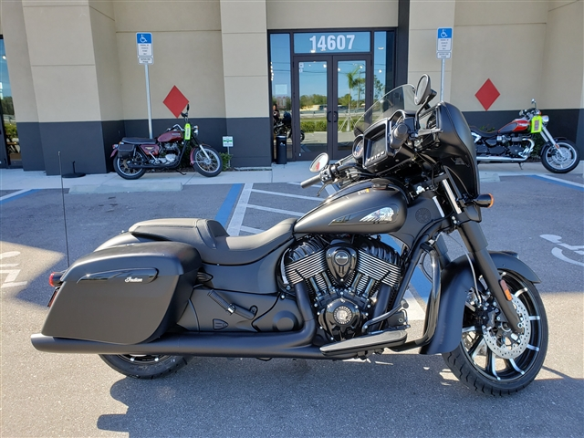 2019 Indian CHIEFTAIN DARK HORSE THDR BLK SMOKE 49ST at Fort Myers
