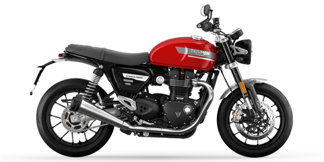 2022 Triumph Speed Twin Base at Eurosport Cycle