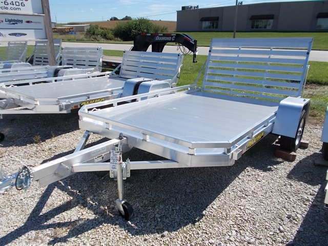 2020 Aluma 7710 Single Axle Utility Trailers at Nishna Valley Cycle, Atlantic, IA 50022