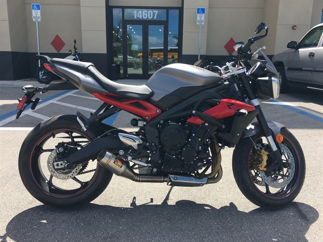 2017 Triumph Street Triple R at Fort Myers