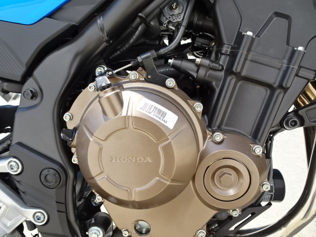 2018 Honda CB500F Base at Genthe Honda Powersports, Southgate, MI 48195
